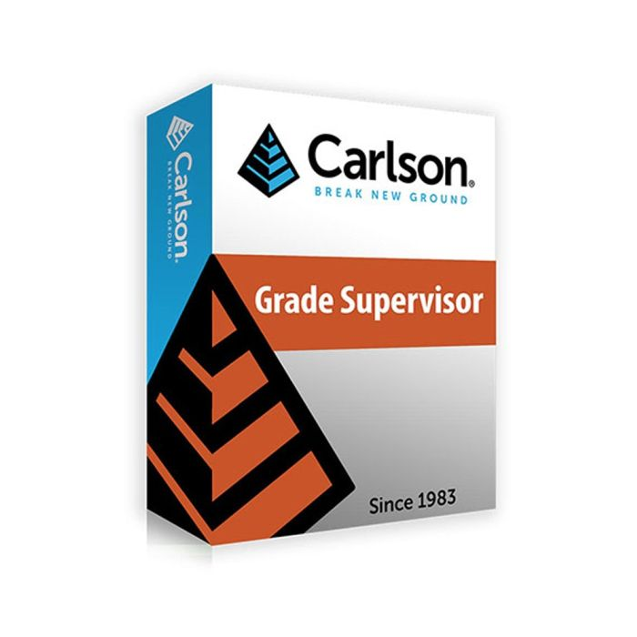 Carlson Grade Supervisor Software