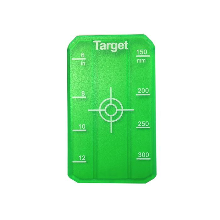 Trilex Pipe Laser Target Small Green