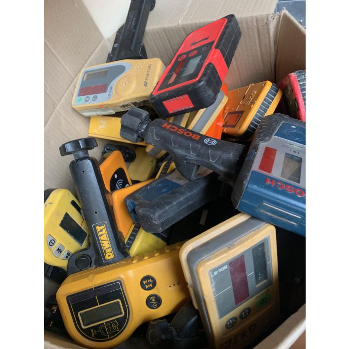 USED Laser Receivers and Clamps