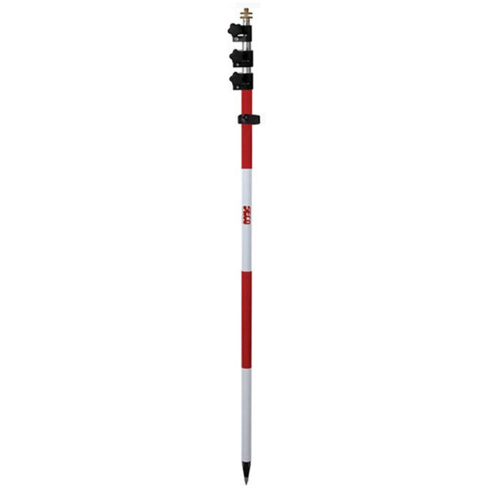 Seco Twist Lock Prism Pole - 4.6m - Adjustable 5/8th Top