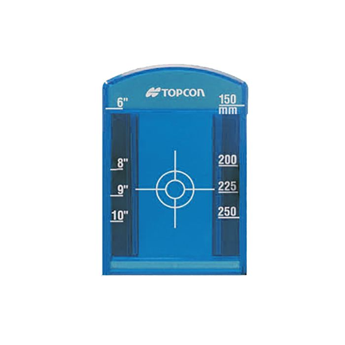 Topcon Pipe Laser Target Small Blue